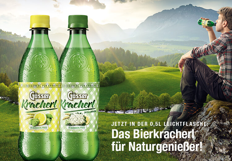 Die Bierkracherl für Naturgenießer!