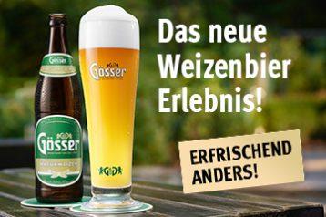 Imagebild: Das neue Weizenbier Erlebnis!